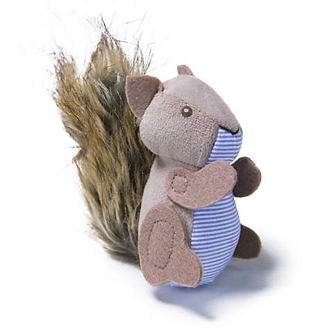 Plush Player Squirrel Refillable Catnip Cat Toy