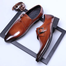 High Quality Men Oxfords Leather Shoes Comfortable Formal Leather Dress Men Flats