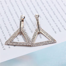 high-grade elegant crystal earrings  Gold  or silver different designs