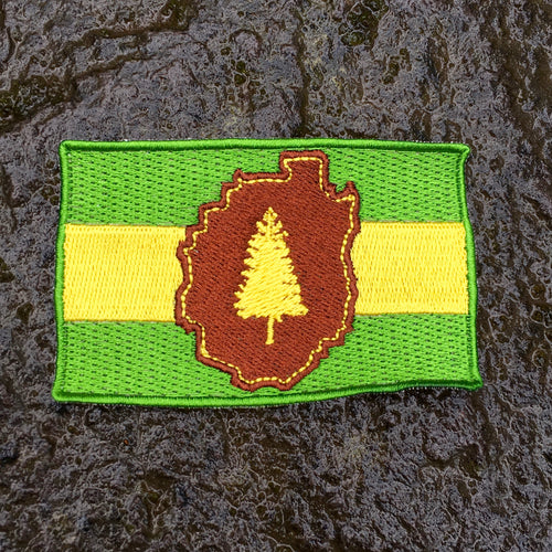 Adirondack Flag Patch