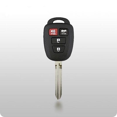 Toyota 4 Button Remote Head Key RK-TOY-452T4 H Chip