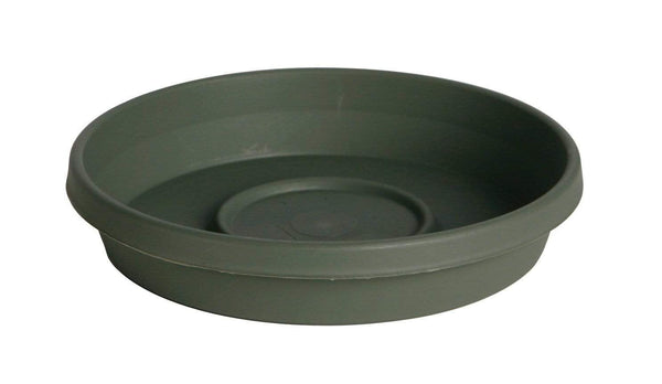 "Bloem Lawn & Patio Living Green 8"" Terra Plant Saucer Tray"