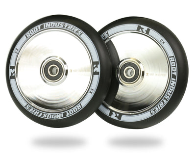 Root Scooter Wheels Black/Mirror 110MM