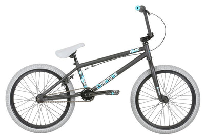 BMX bike - 2019 Haro Downtown Matte Black 20.5tt BMX