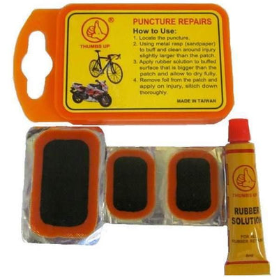 Puncture Repair Kit Orange