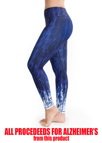 Forget-Me-Not Yoga Pants