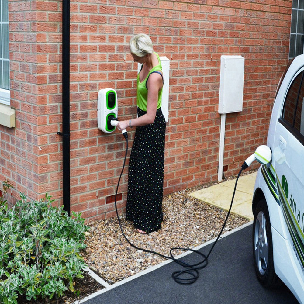 WallPod : EV Charging Unit | Type 2 Socket | 16/32 Amp(3.6/7.2kW) | IP65 | Commercial |