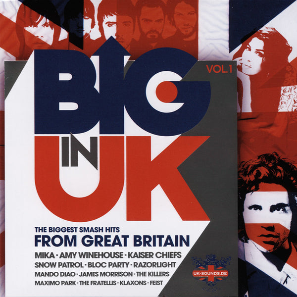 (Artistes variés) : Big In UK, Vol. 1  CD