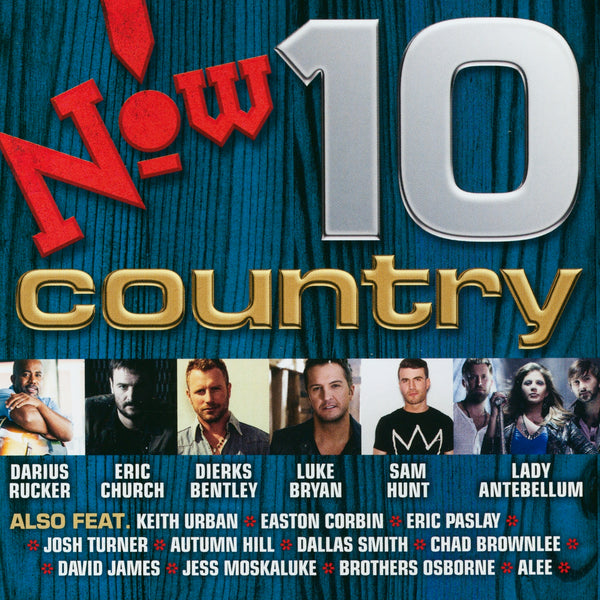 (Artistes variés) : Now! Country 10  CD