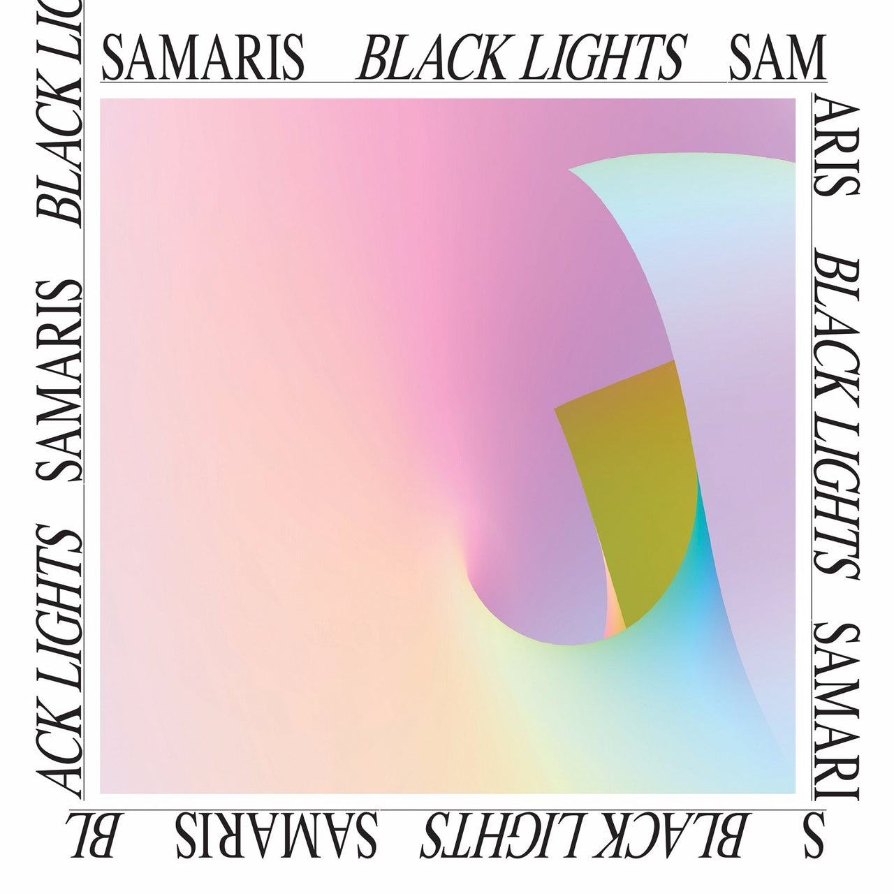 Samaris : Black Lights  LP