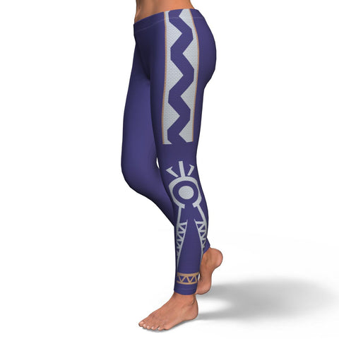 Julia MOTHER NATURE Equil Leggings - Blue