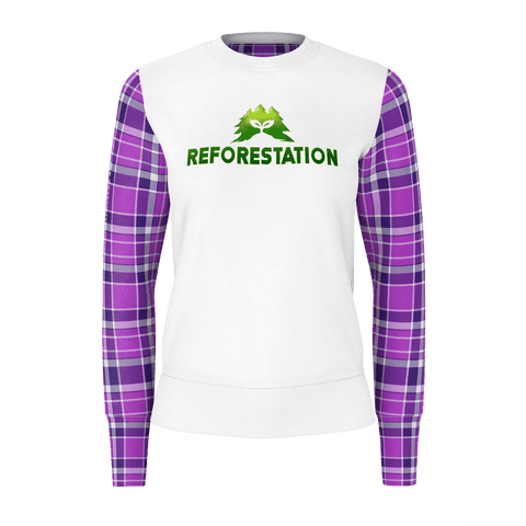 Julia Reforestation Equil Sweater - Womens - Plaid
