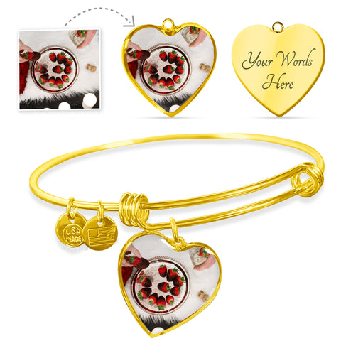 Create your own Heart Pendant Bangle