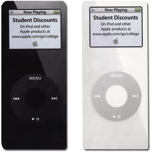 iPod Nano Magnet Set