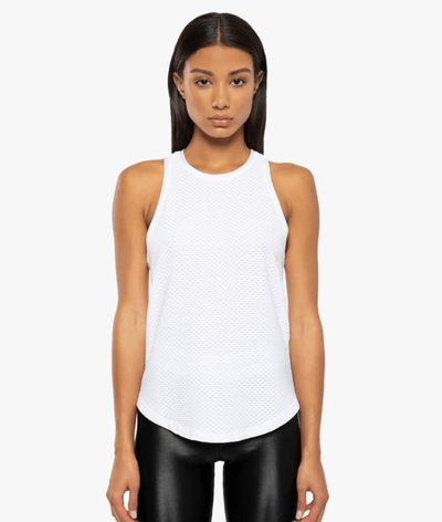 Aerate Netz Tank in White