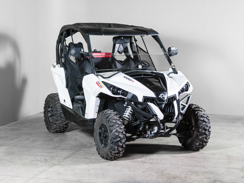 "Can-Am Maverick Half UTV Windshield 1/4"" - Scratch Resistant"