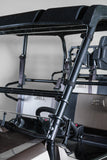 "Kawasaki Mule Pro Series Full Tilting UTV Windshield 3/16"" - Scratch Resistant - Models 2015+"