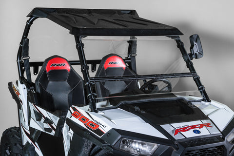 "Polaris RZR 900 Full Tilting UTV Windshield 1/4"" - Scratch Resistant - Models 2015+ - Made in the USA! FREE Shipping."