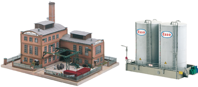 HO-Scale Buildings & Accessories