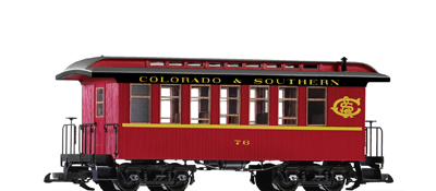 G-Scale Passenger Cars