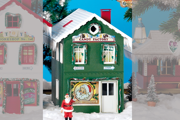 62713 North Pole Candy Factory Built-Up Building (G-Scale)
