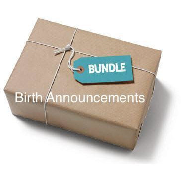Birth Announcements SVG Bundle - JPIBlanks.com