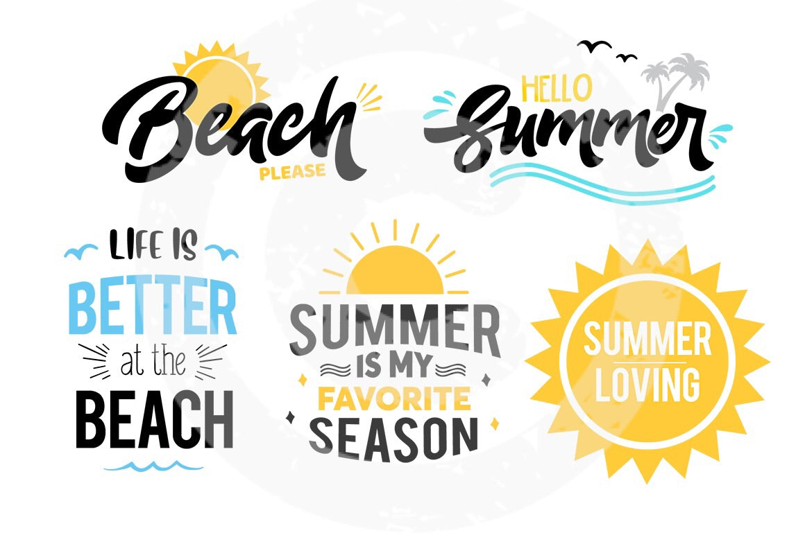 Summer SVG Bundle 1