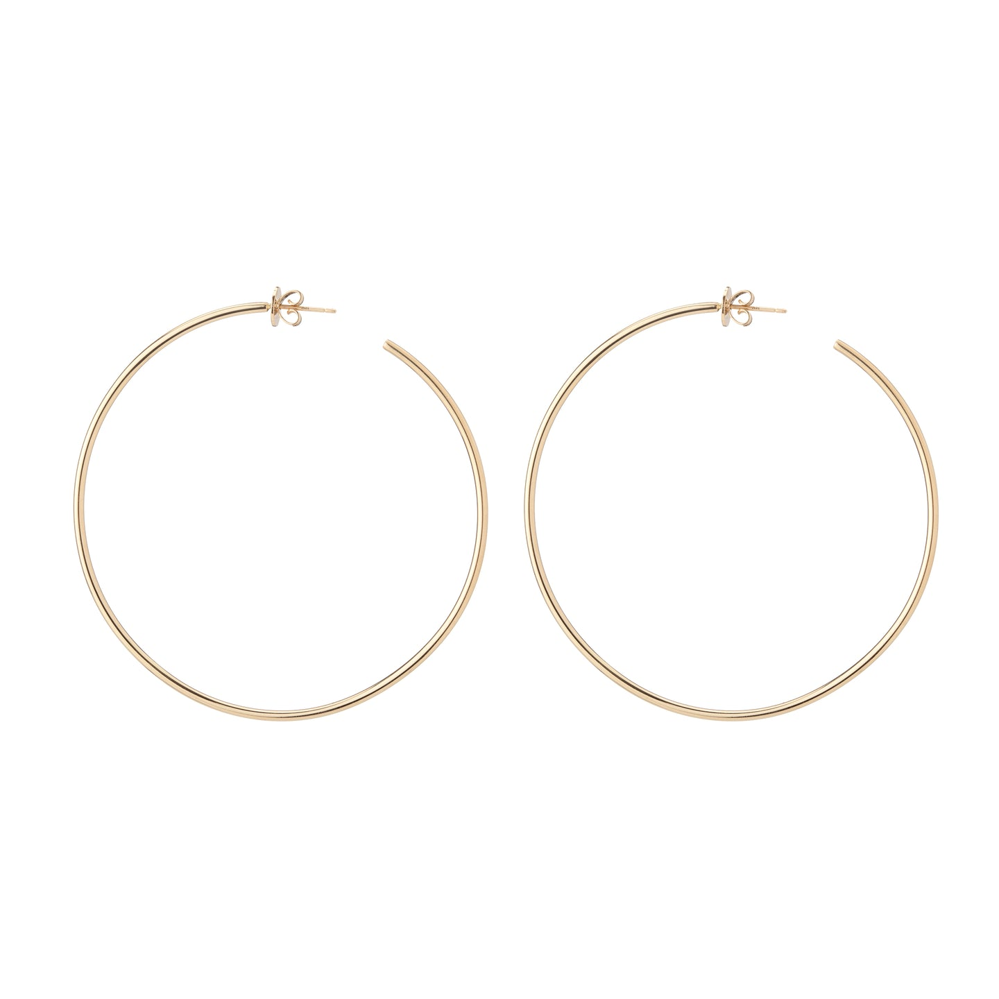 "2.5"" Hollow Eternity Hoops"