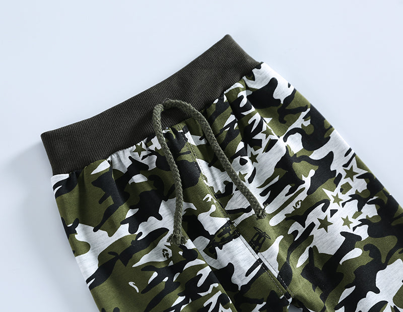 New Military Jungle Camouflage pattern Baby Sports Pants 0-36 Months