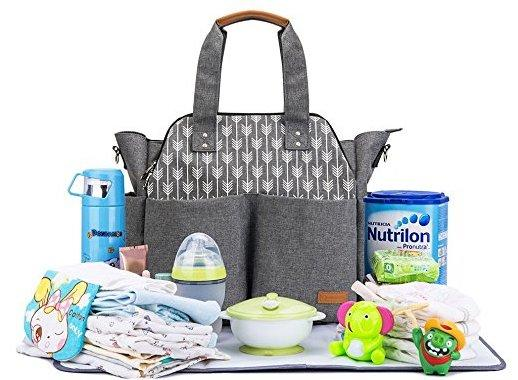 Large Diaper Bag-Watermelon Warehouse