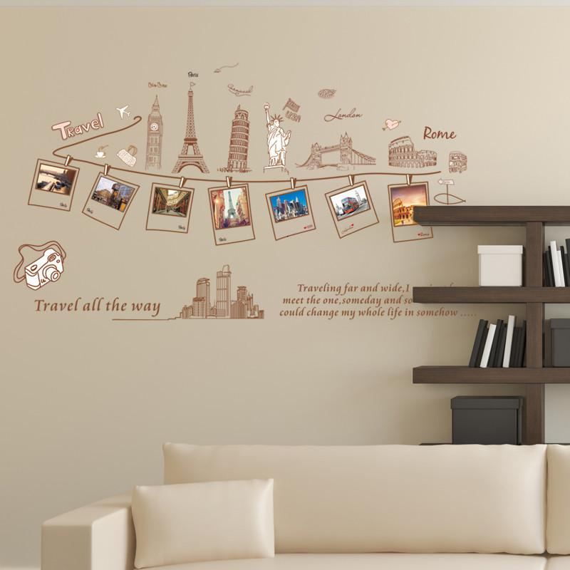 Around the World Wall Sticker-Watermelon Warehouse