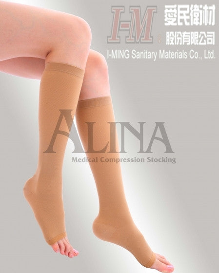 Alina Compression Stockings Knee High, Medium Compression