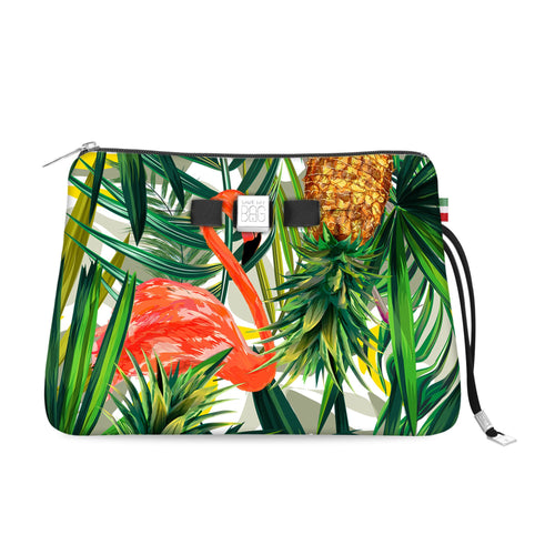 Travel Pouch Large* Tropical