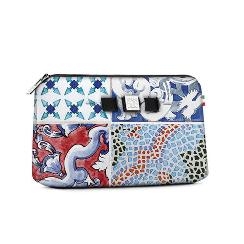 Medium travel pouch* MAIOLICA