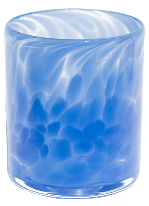 Blue Water Glass
