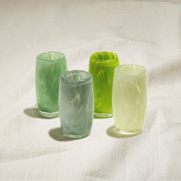 Green Tea Shot Glasses Set of 4