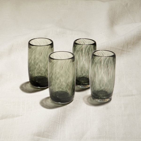 Peppermint Shot Glasses Set of 4