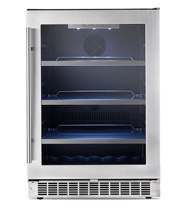 "Silhouette Saxony 24"" Single Zone Beverage Center"