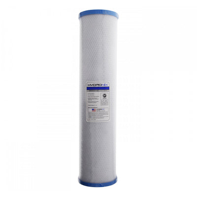 "Submicron Carbon Block CTO, Cyst, Water Filter 20"" BIG BLUE Size, 0.5 Micron"