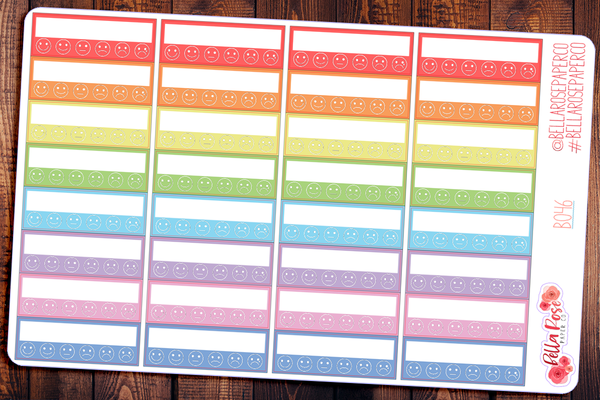 Chronic Pain Tracker Planner Stickers B046