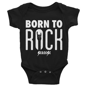 Infant Bodysuit---Born To Rock---Click for more shirt colors
