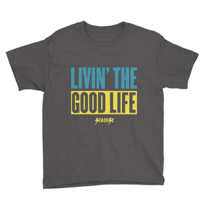 Youth Short Sleeve T-Shirt--Livin' The Good Life---Click to see more shirt colors