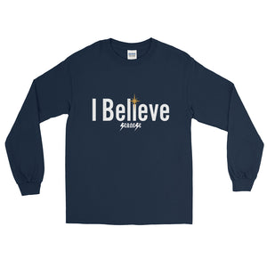 Long Sleeve WARM T-Shirt--I Believe---Click for more shirt colors