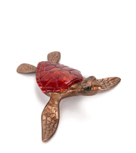 "Bronze Sculpture ""Slow Poke"" Crimson"