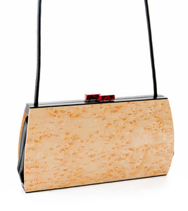 """Cassia"" Birdseye Maple Bag"