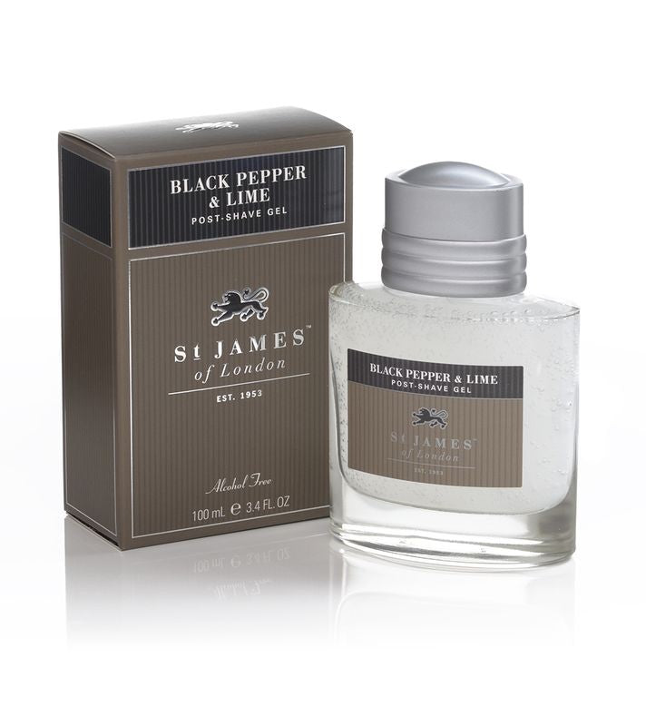 Black Pepper & Lime Shave Gel