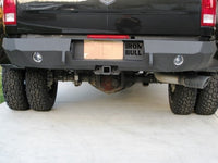 2010-2019 Dodge 2500/3500/4500 Rear Base Bumper Without Sensor Holes - Iron Bull Bumpers - REAR IRON BUMPER - Metal bumper for heavy duty trucks Perfect for CITY/OFF-ROAD applications with Light Buckets and Winch Mount included