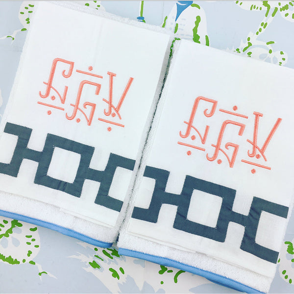Applique Tip Towel