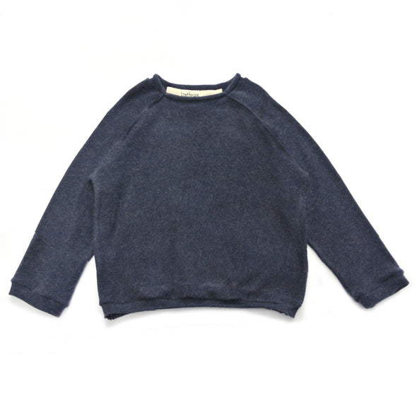 Lonin Knitted Sweater Navy