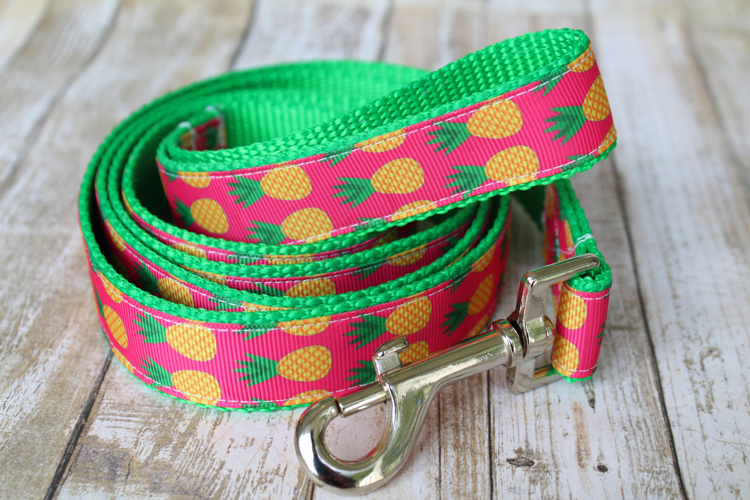 Pineapple Dog Leash